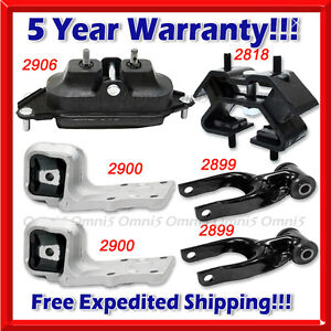 Amical L721 Fits 02-07 Buick Rendezvous/ Terraza 3.4l 3.5l 3.6l Motor & Trans Mount 6pc Belle Apparence