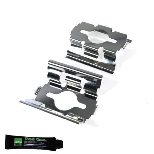 2002-2007 Arrière Kit de montage de plaquette de frein anti Hochet cales BPF1600C PEUGEOT BOXER