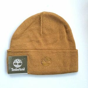 Image is loading NEW-TIMBERLAND-Knit-Beanie-Hat-Color-Honey-Mustard 7a75afc20c59