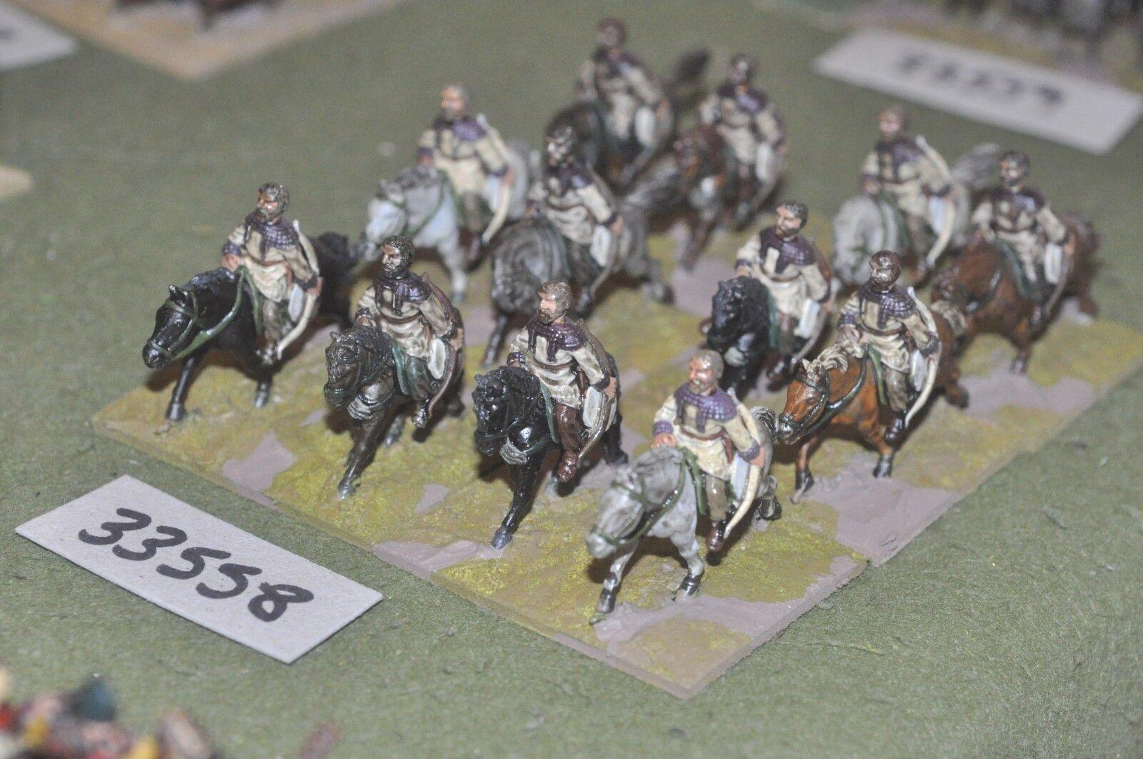 25mm roman era   roman - late horse archers 12 figures - cav (33558)