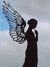 Edelrost Engel Santine 77 cm Dekoration Advent Garten Deko Skulptur Figur Flügel