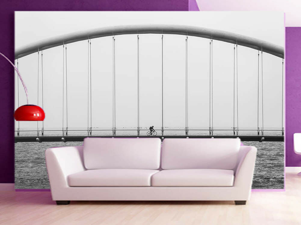 Cycling To Distance 3D Full Wall Mural Photo Wallpaper Printing Home Kids Decor