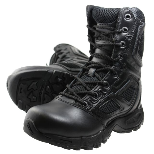 67b4714992f Magnum Elite Spider 8.0 Black Leather Tactical / Uniform BOOTS UK Size 3.5  EU 36