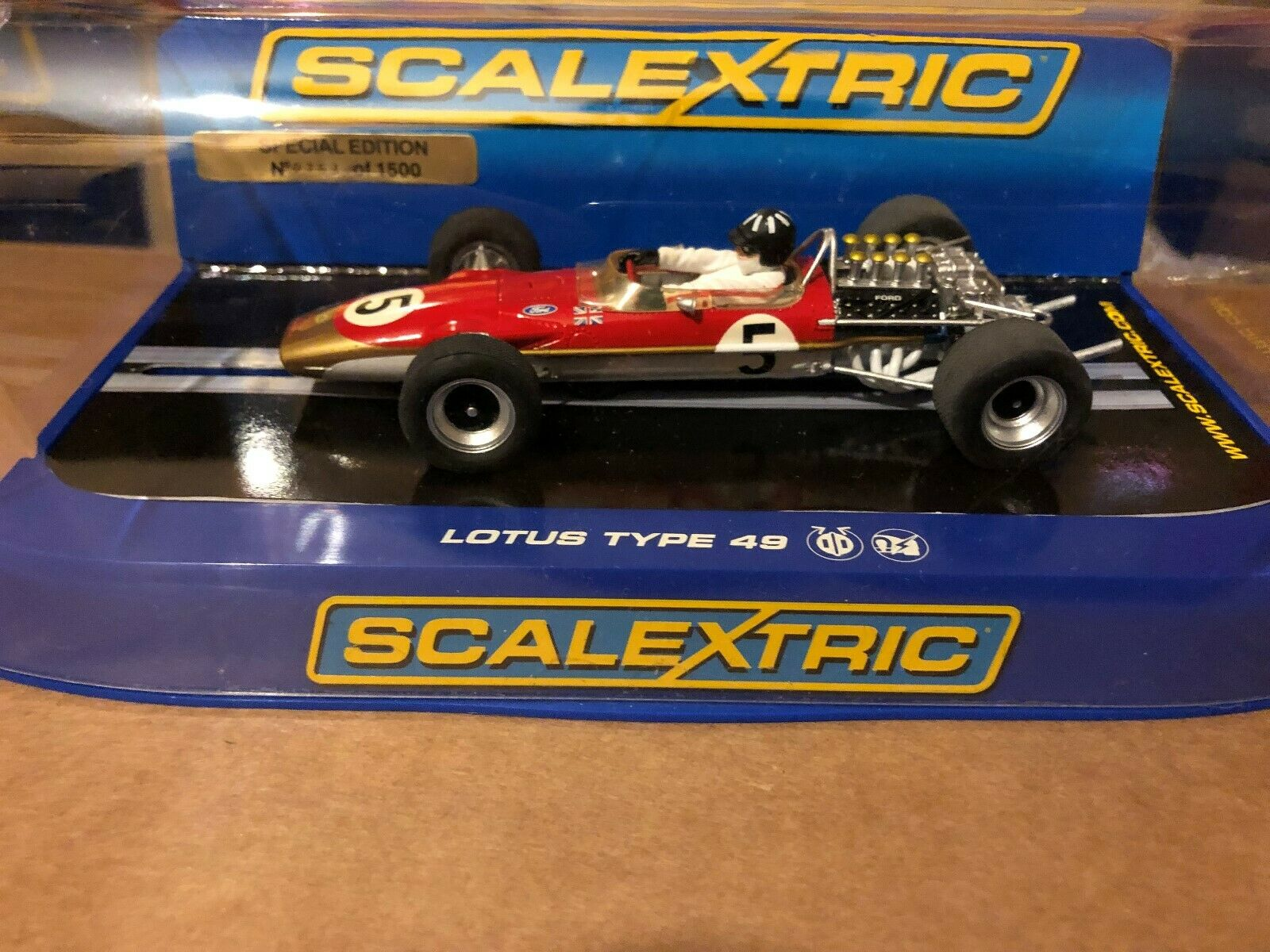 Scalextric C2964 Lotus 49 'Graham Hill - Limited Ed RED