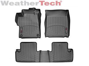 Honda Civic Floor Mats >> Details About Weathertech Floor Mats Floorliner For Honda Civic Coupe 2014 2015 Black