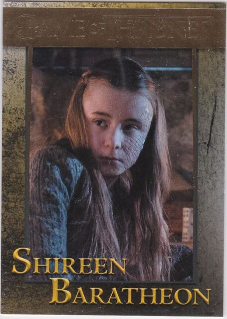 Game Of Thrones Season 4 Foil Parallel Base Card #34