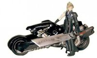 Final Fantasy Advent Children Cloud Strife and Fenrir Motorcycle Action Figure