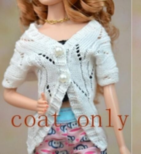 High Quality Doll Accessories Knitted Sweater Tops Dress Clothes For 1//6 Doll