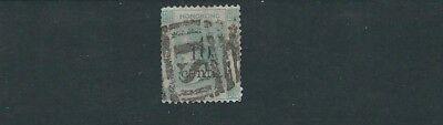scott 35 10c On 24c F Used ZuverläSsige Leistung Gehorsam Hong Kong 1879-80 Qv Portrait