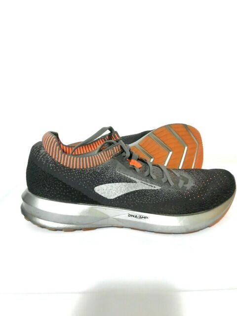 Brooks Levitate 2 Mens Running Shoes Sneakers Gray Orange Size 9.5