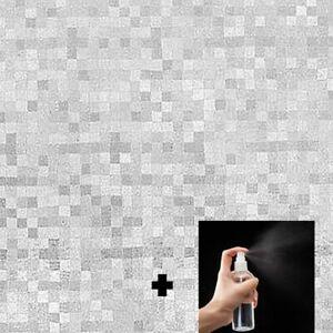Pellicola Privacy Pixelata per Finestre Vetri Autoadesive Anti-UV Control Calore