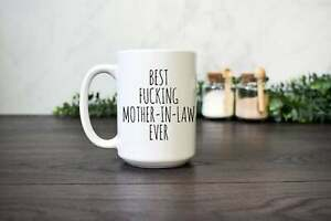 Funny Mother's Day Mug Gift For Mother In Law Funny Coffee Mug Happy Coffee Cup