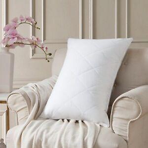 Goose Feather Bed Pillows Medium Firm Feather Pillows