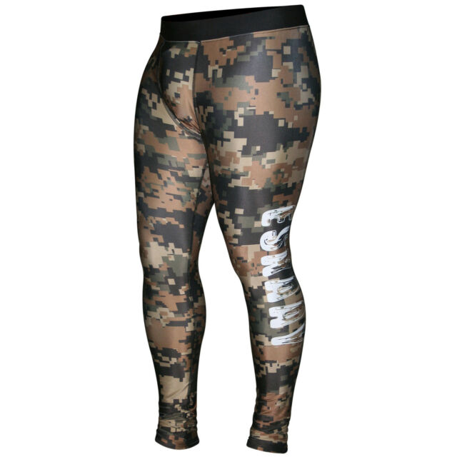 Men Compression Pants Running Tights Gym Sports Compression Tights Base Layer