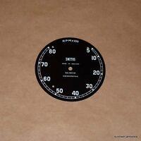 Smiths Chronometric Tachometer Face Dial Rc1307/01 Triumph Bsa Norton 500 650