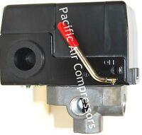 034-0201 Sanborn Pressure Switch 140 Psi On 175 Psi Off Four Port Unloader Valve