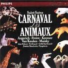 Saint Saens Carnival of Animals Argerich Freire Kremer Maisky 1988 CD
