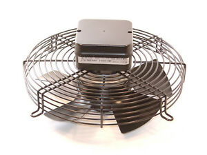 3ph-400v-Guard-Mounted-Axial-300mm-12-034-4-Pole-SUCKER-Fan-Quality-cw-terminal-box