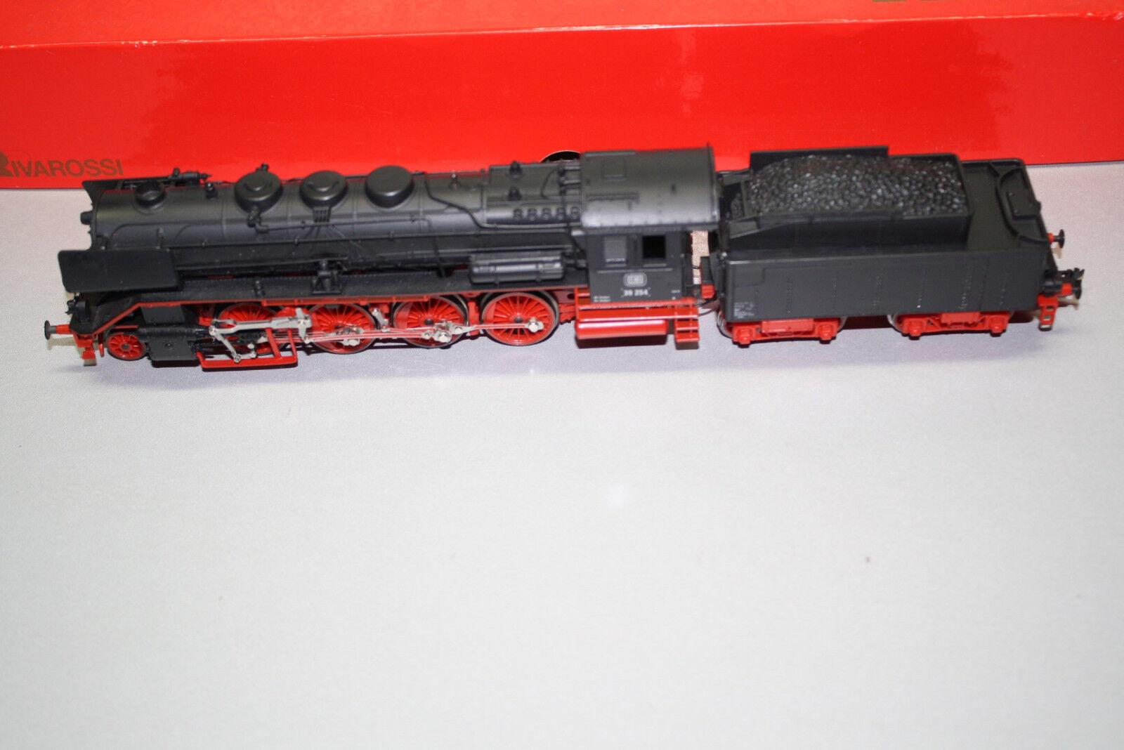 Rivarossi 1320 Locomotora de Vapor Serie 39 254 DB Escala H0 Emb.orig