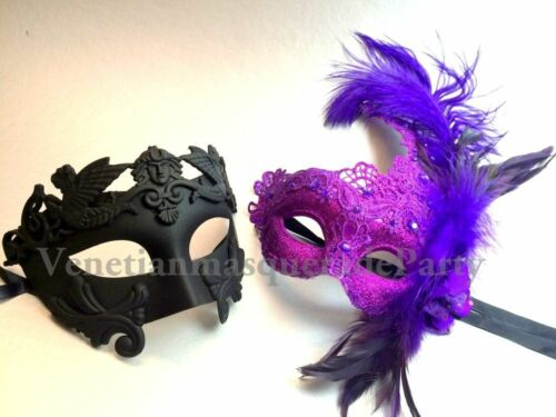 Couple Masquerade ball mask Pair Roman Thor Mask Birthday Dance Prom Party