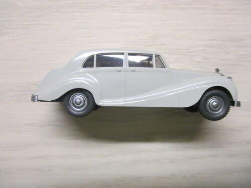 Wiking 838 1E Rolls Royce Silver Wraith lichtgrau