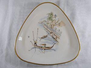 ( 261 ) Superbe Assiette En Porcelaine Alka Kunst Bavaria Rialto Allemagne