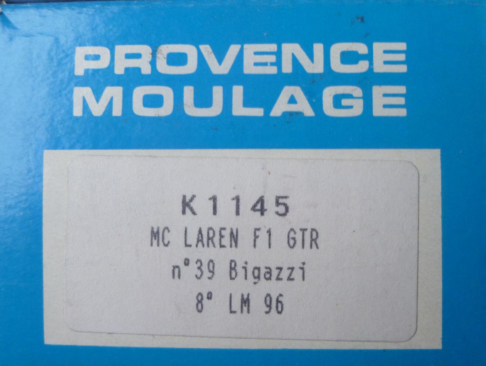 MC. LAREN GTR-nr.39  BIGAZZI  - LE MANS 1996 - PROVENCE MOULAGE 1 43