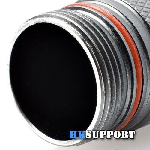 Φ6-50 x 2mm 3 Pcs x Silicone Rubber O-Ring For LED Flashlight