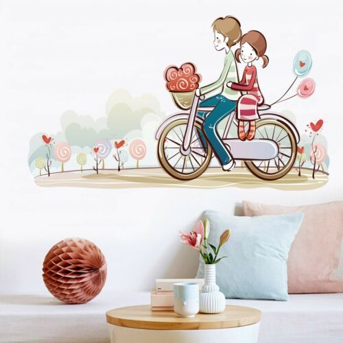 Details about  /3d Pair Bicycle 763 Wallpaper Murals Floor Wall Print Wall Sticker DE show original title