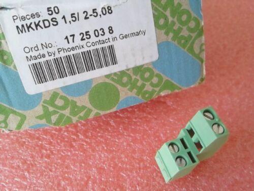 Leiterplattenklemme MKKDS 1,5// 2-5,08-1725038 NEU anreihbar