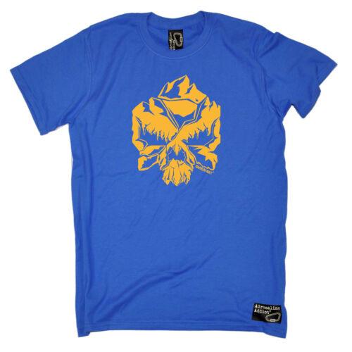 Arrampicata T-shirt Divertenti Novità T-Shirt Maglietta da uomo-Teschio di arrampicata