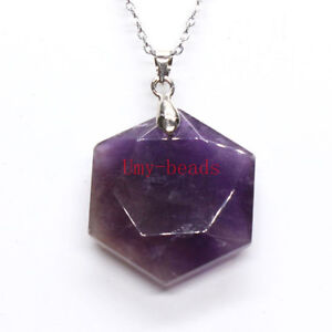 Natural-Amethyst-Quartz-Crystal-Star-of-David-Talisman-Hexagram-Stone-Pendant