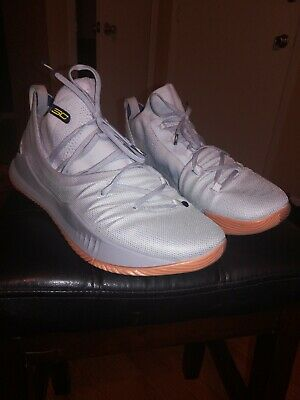 reputable site 8b7a8 5b4f8 Under Armour UA Curry 5 Gray/Grey Gum Basketball Shoes Men's 12.5  3020657-105 | eBay