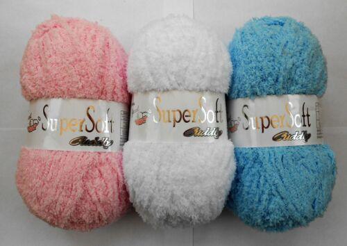 max postage £2.60 Jarol Supersoft Cuddly Chunky Yarn 100g
