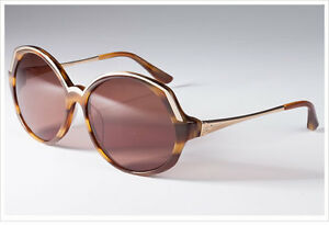 Converse-Hall-of-Fame-Brown-Horn-Ladies-039-Sunglasses-with-100-UV-Protection