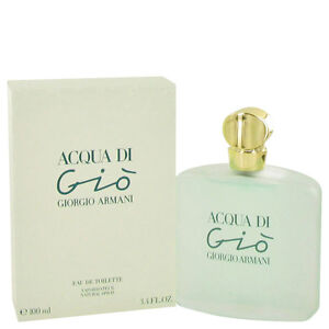 Acqua Di Gio Perfume By GIORGIO ARMANI FOR WOMEN 3.3 oz EDT Spray ... c8c8cc06b5