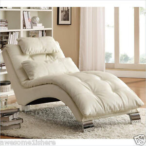 Chaise Lounge Chair Indoor Cheap Sofa Furniture White Couch Living ...