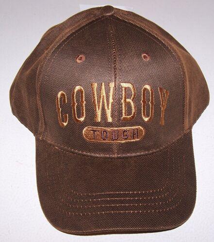 Chapeau Marron Cowboy Tough OILSKIN Casquette