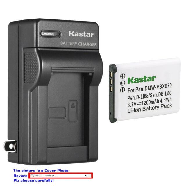 Cargador//batería-cargador y batería//batería para sanyo xacti vpc-cg10