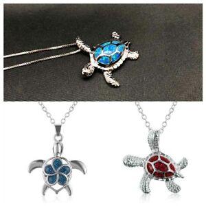 elegantes-geschenk-mode-trendy-kette-schmuck-sea-turtle-anhaenger-opal-kette