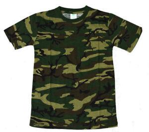 Kinder-T-Shirt-Neu-Jungen-T-Shirt-Bis-170-Kinder-Tarnshirt-Jungen-Shirt-TShirt