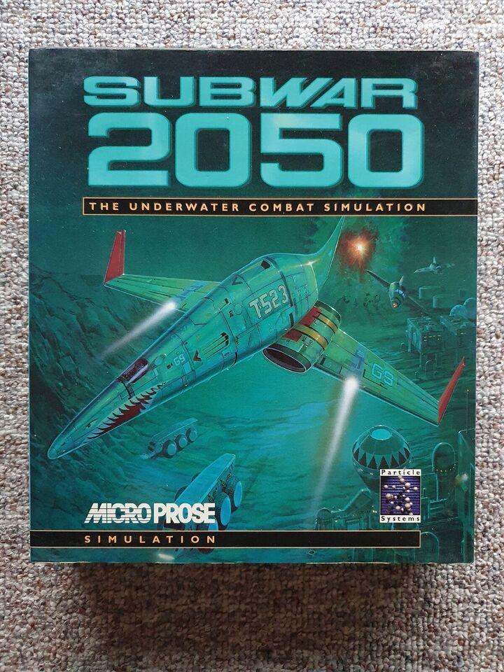 Subwar 2050 [Big box], til pc, simulation