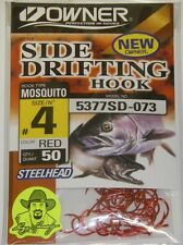 Owner 5377HH-161 Size 6//0 Mosquito Herring Hooks 16 Pack Steelhead Trout Salmon