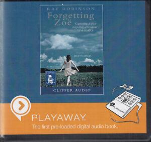 Ray-Robinson-Forgettng-Zoe-Playaway-Digital-MP3-Audio-Book-Unabridged-FASTPOST