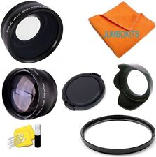 FISHEYE+TELEPHOTO+MACRO +UV FILTER + HOOD+ CAP FOR NIKON D5500 D3200 D3100