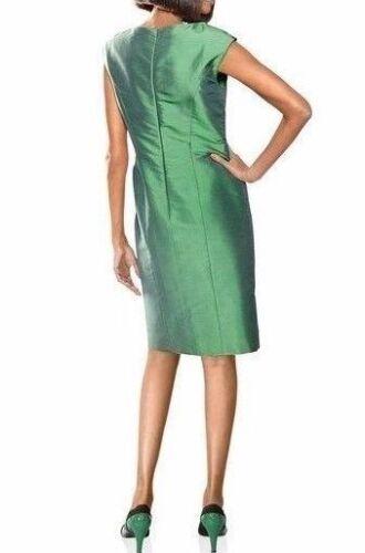 Damenmode Kleid 100 Seide Cocktail Heine Singh S Madan Smaragd Grun Gr 34 36 40 42 46 Eurodite
