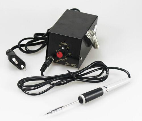mini Lötstation 450C° für SMD mit Micro Lötkolben 12V Perfekt für SMD Löten