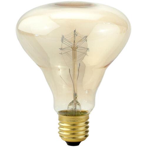 Luminea Vintage-Schmucklampe Kolben mit gitterförmigem Glühdraht