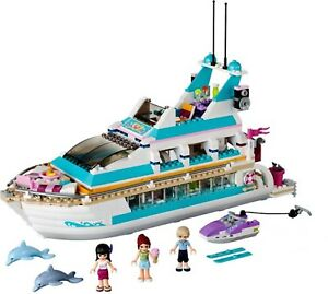 Lego 41015 Friends Dolphin Cruiser Yacht Dauphin Notice Complet De 2013 Cng21