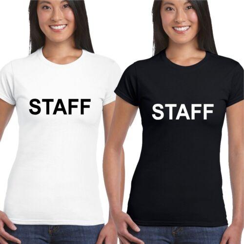 tee top Le personnel T shirt Femme Fille Dame monté bar club événement atelier etc